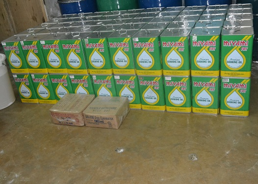 Coconut Oil for cooking to be supplied to typhoon victims photo