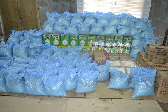 Rice, water, coconut oil, soaps and more to be brought to typhoon victims photo